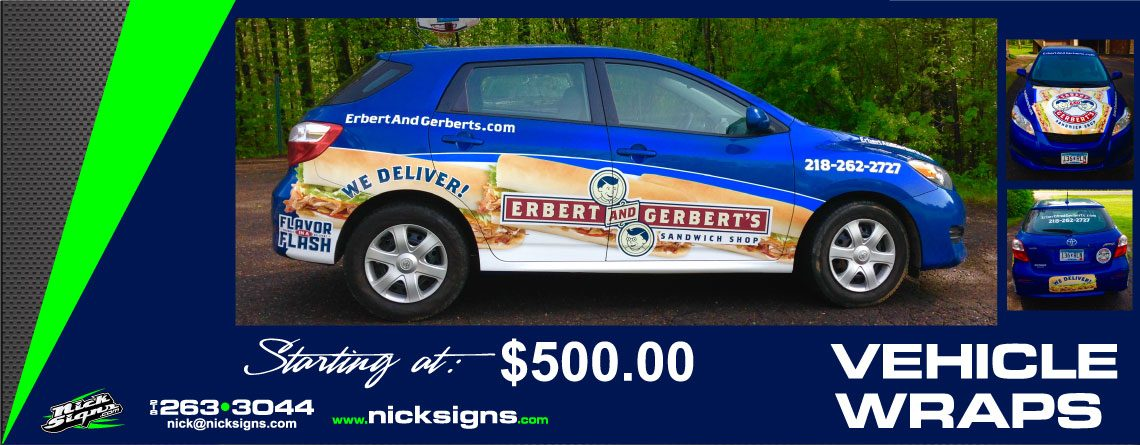 Vehicle Wrap – Erbert & Gerberts